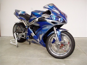 Customize you new or used sportbike or cruiser