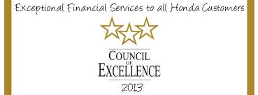 Council of Excellence Award | 2012 & 2013